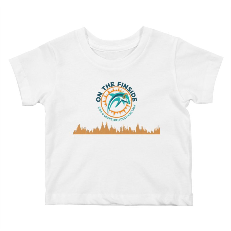 FinSide Bullet Kids Baby T-Shirt by On The Fin Side's Artist Shop