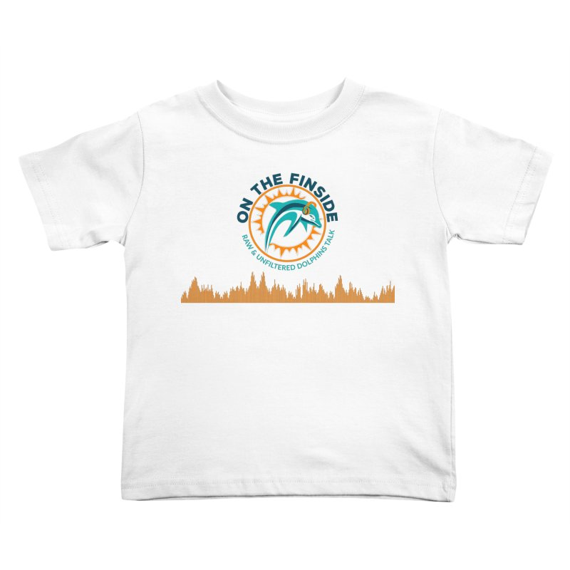 FinSide Bullet Kids Toddler T-Shirt by On The Fin Side's Artist Shop