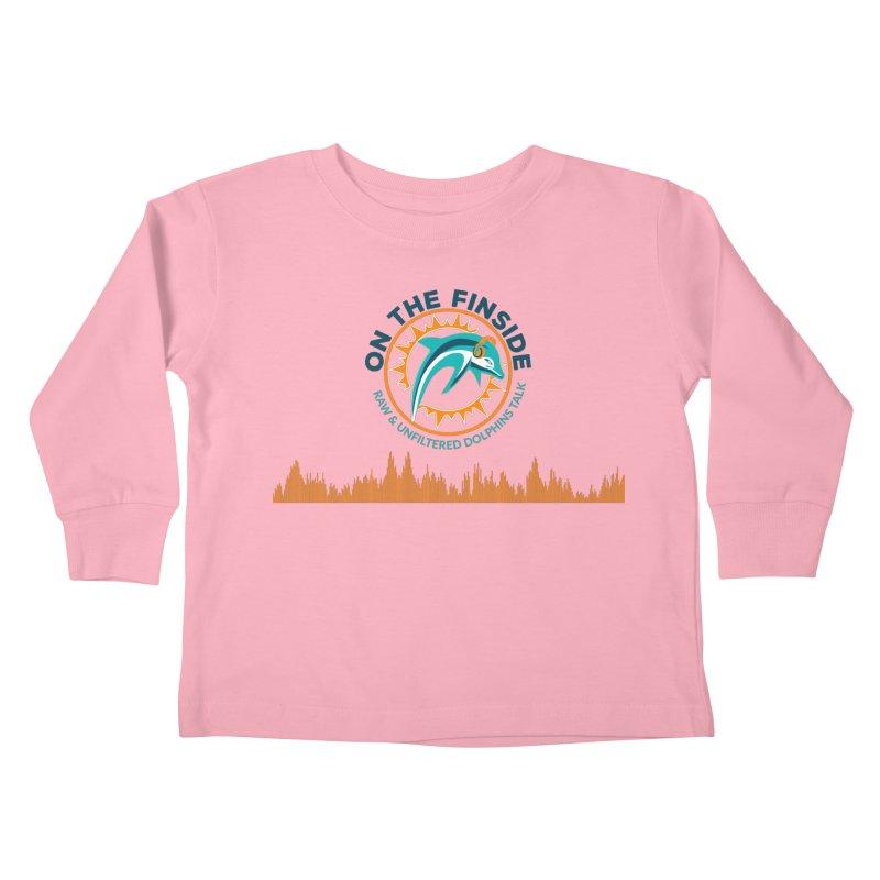 FinSide Bullet Kids Toddler Longsleeve T-Shirt by OnTheFinSide's Artist Shop