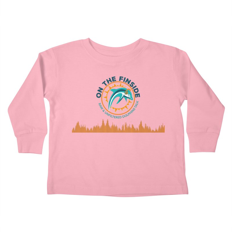 FinSide Bullet Kids Toddler Longsleeve T-Shirt by On The Fin Side's Artist Shop