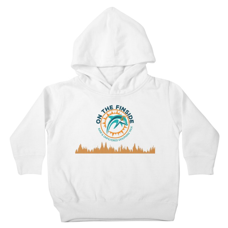 FinSide Bullet Kids Toddler Pullover Hoody by On The Fin Side's Artist Shop