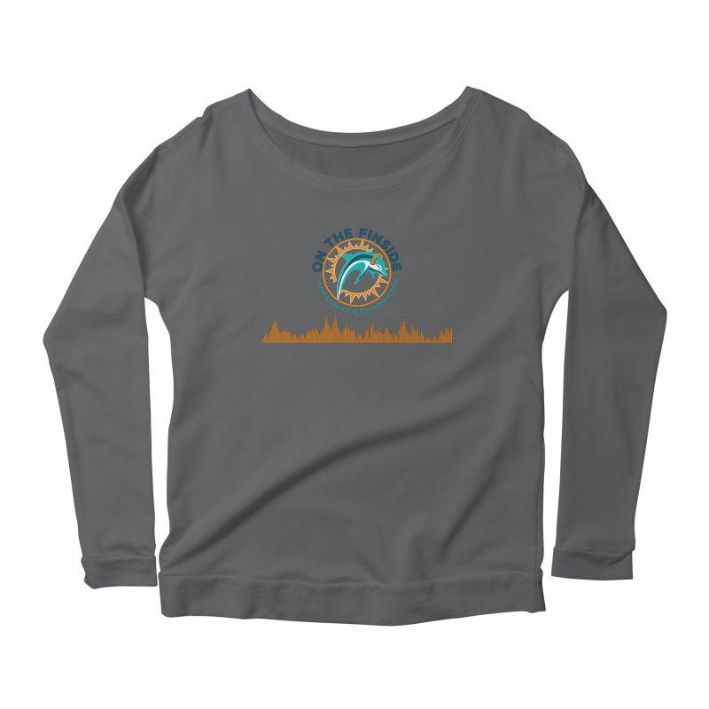 FinSide Bullet Women's Scoop Neck Longsleeve T-Shirt by OnTheFinSide's Artist Shop