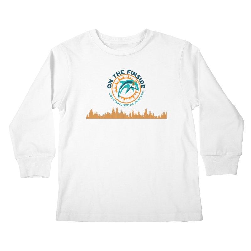 FinSide Bullet Kids Longsleeve T-Shirt by On The Fin Side's Artist Shop