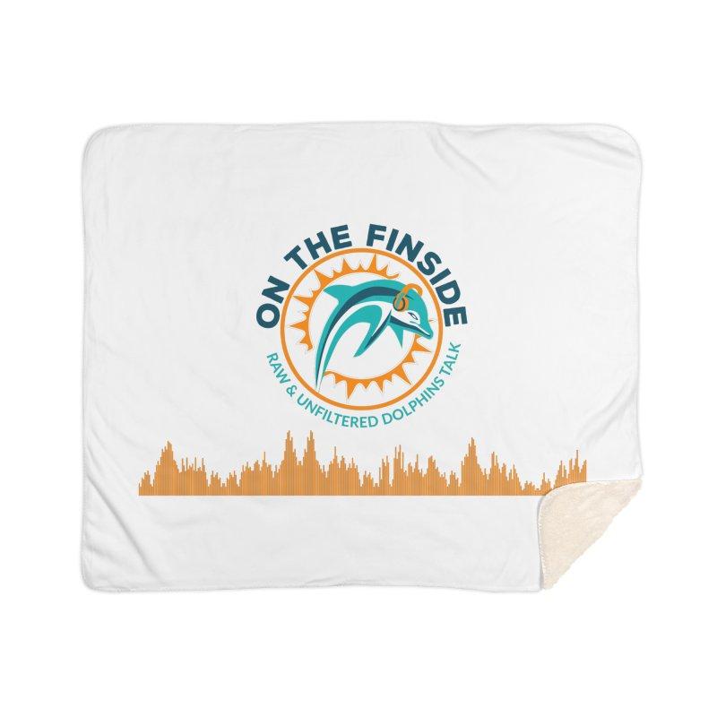 FinSide Bullet Home Sherpa Blanket Blanket by On The Fin Side's Artist Shop