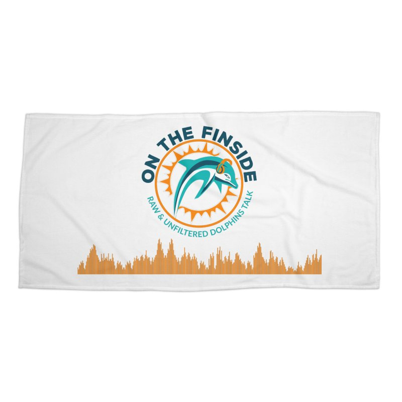 FinSide Bullet Accessories Beach Towel by OnTheFinSide's Artist Shop