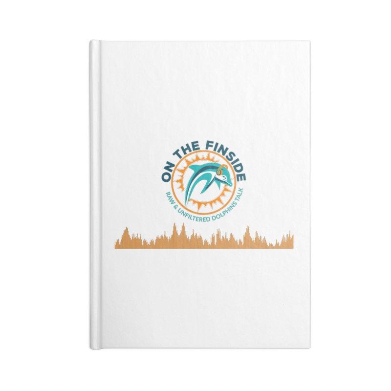 FinSide Bullet Accessories Notebook by OnTheFinSide's Artist Shop