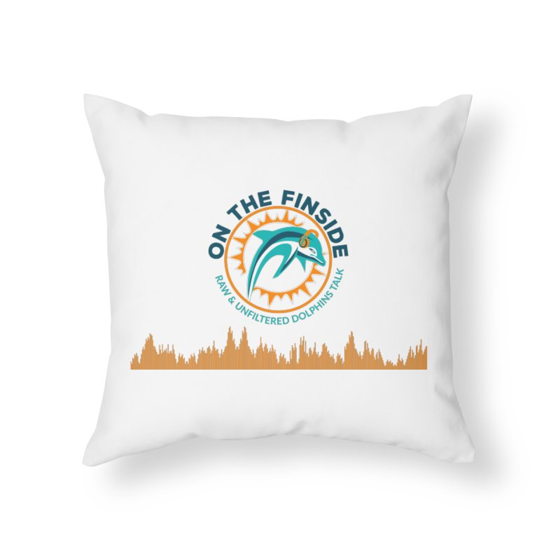 FinSide Bullet Home Throw Pillow by OnTheFinSide's Artist Shop