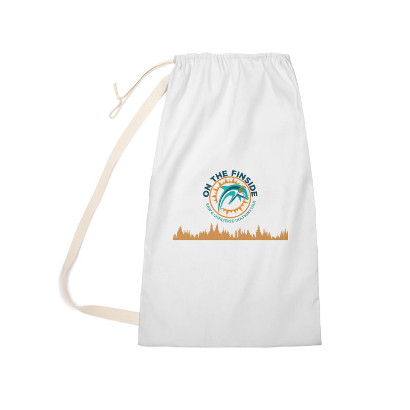 FinSide Bullet Accessories Laundry Bag Bag by On The Fin Side's Artist Shop
