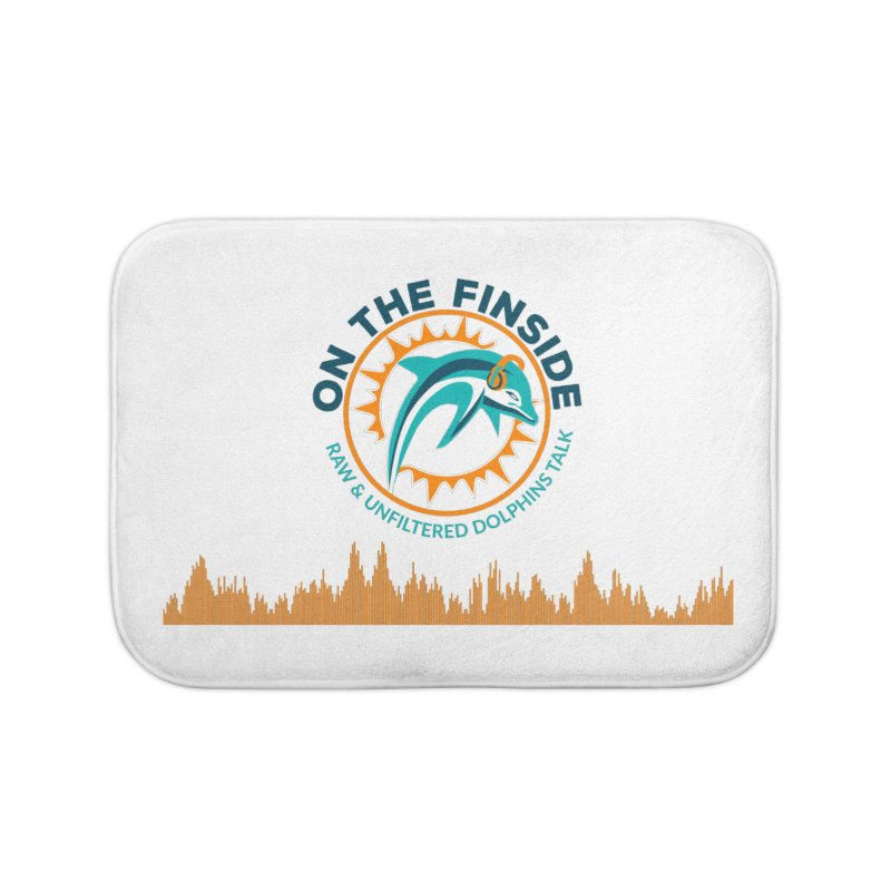 FinSide Bullet Home Bath Mat by On The Fin Side's Artist Shop
