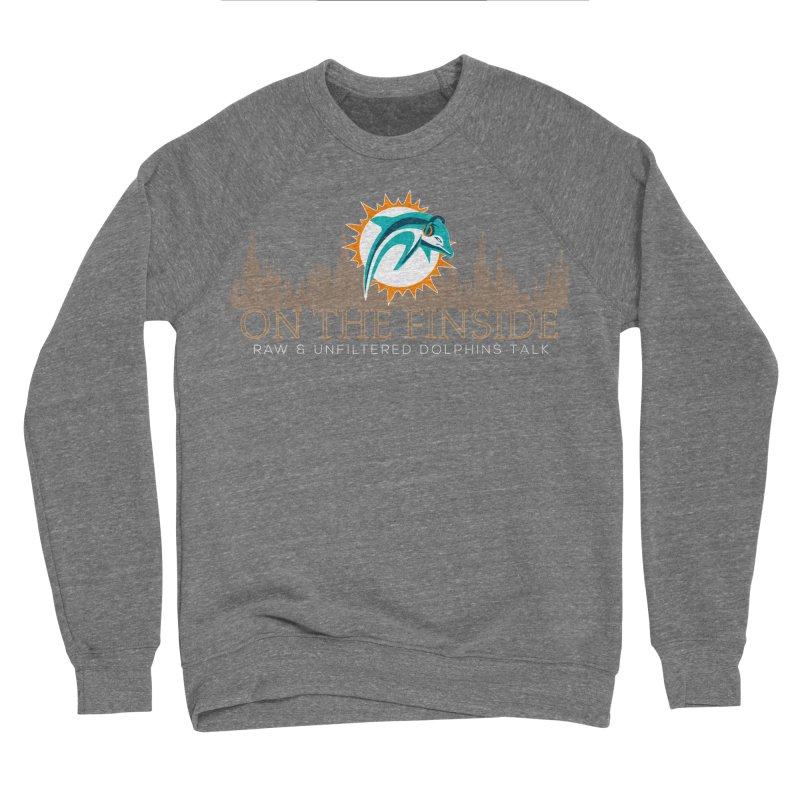 Clear Fire Men's Sweatshirt by On The Fin Side's Artist Shop