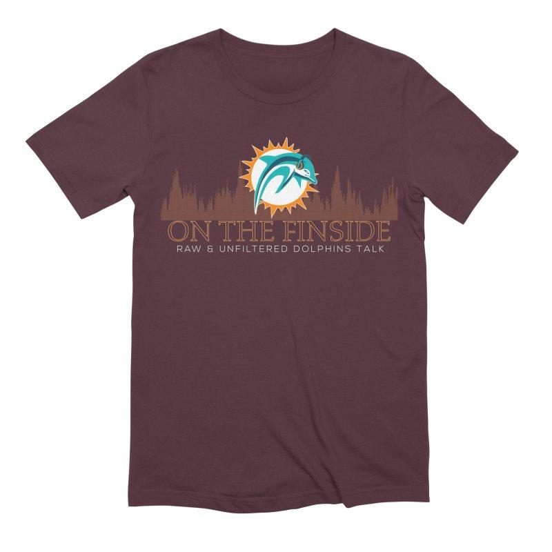 Clear Fire Men's Extra Soft T-Shirt by OnTheFinSide's Artist Shop
