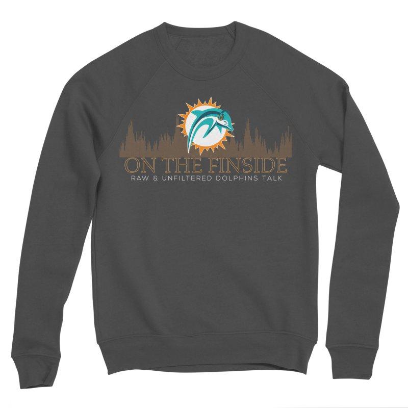 Clear Fire Women's Sponge Fleece Sweatshirt by On The Fin Side's Artist Shop