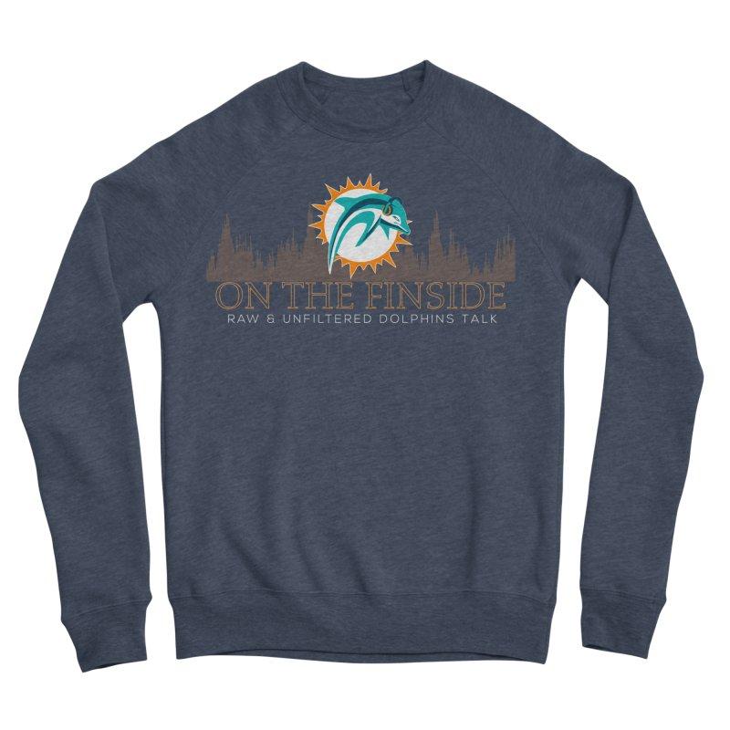 Clear Fire Men's Sponge Fleece Sweatshirt by OnTheFinSide's Artist Shop