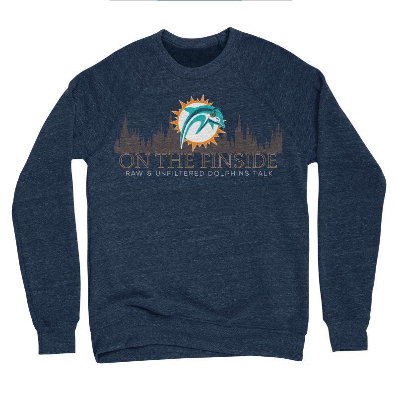 Clear Fire Men's Sponge Fleece Sweatshirt by On The Fin Side's Artist Shop