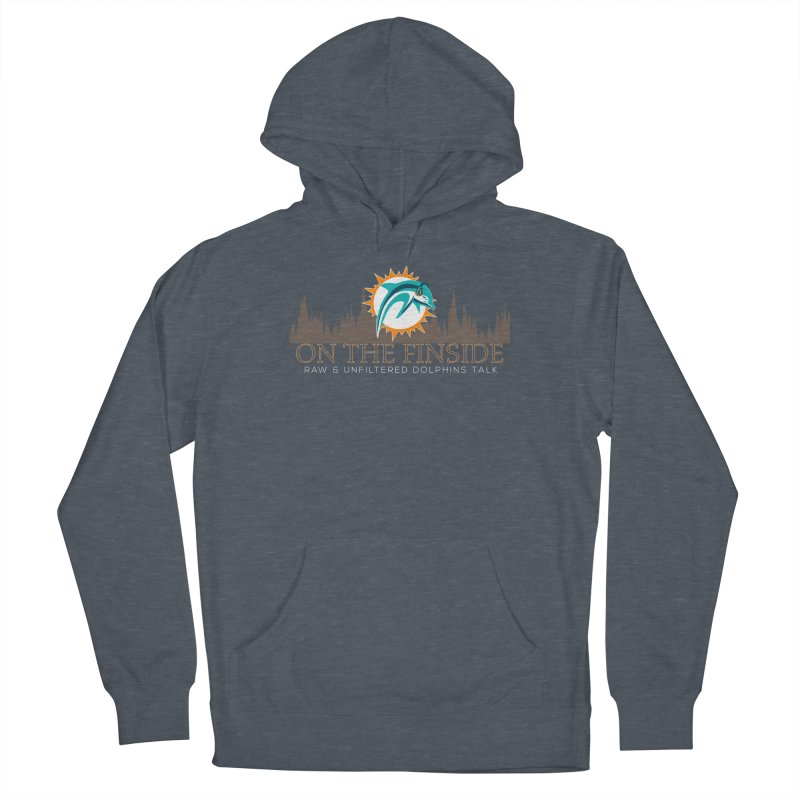 Clear Fire Men's Pullover Hoody by On The Fin Side's Artist Shop