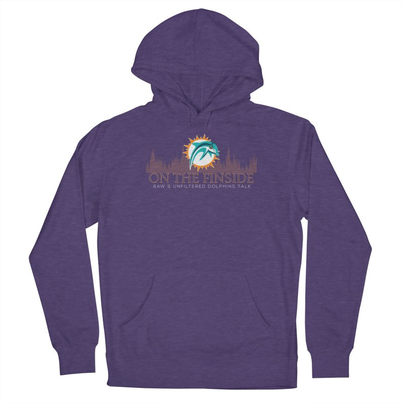 Clear Fire Women's Pullover Hoody by On The Fin Side's Artist Shop