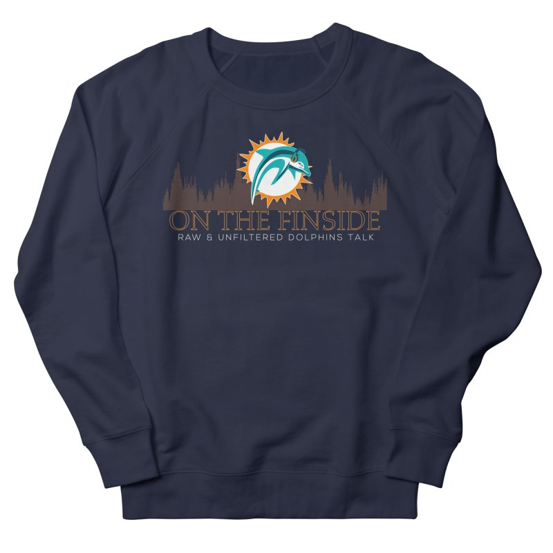 Clear Fire Men's French Terry Sweatshirt by OnTheFinSide's Artist Shop