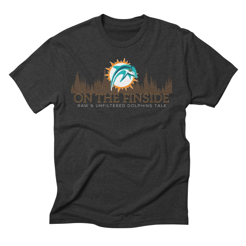 Clear Fire Men's Triblend T-Shirt by On The Fin Side's Artist Shop