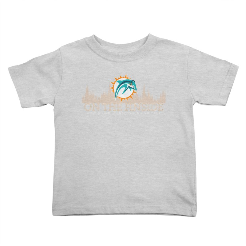 Clear Fire Kids Toddler T-Shirt by OnTheFinSide's Artist Shop