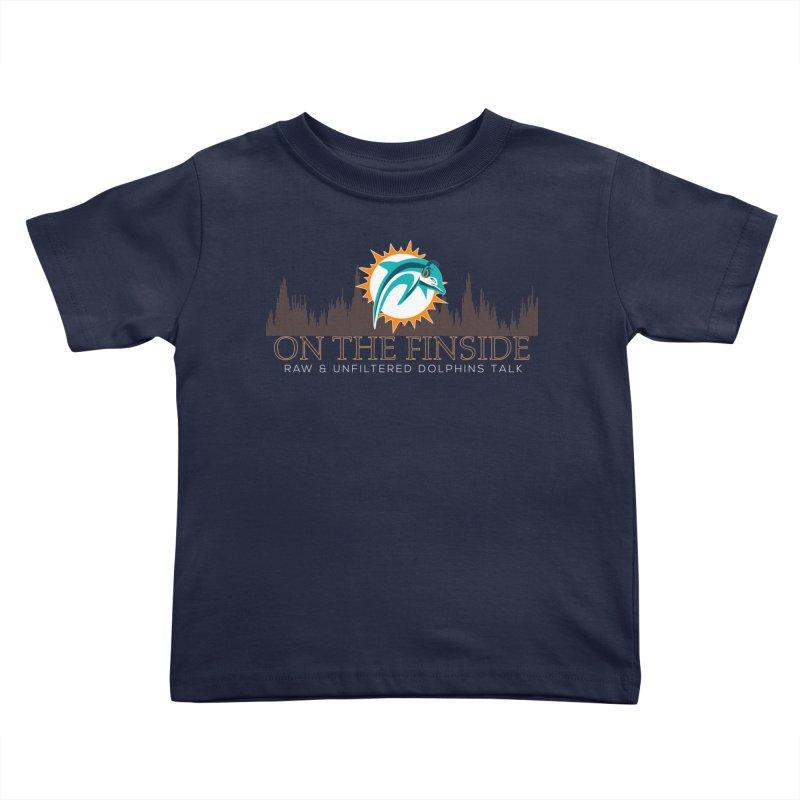 Clear Fire Kids Toddler T-Shirt by OnTheFinSide's Artist Shop