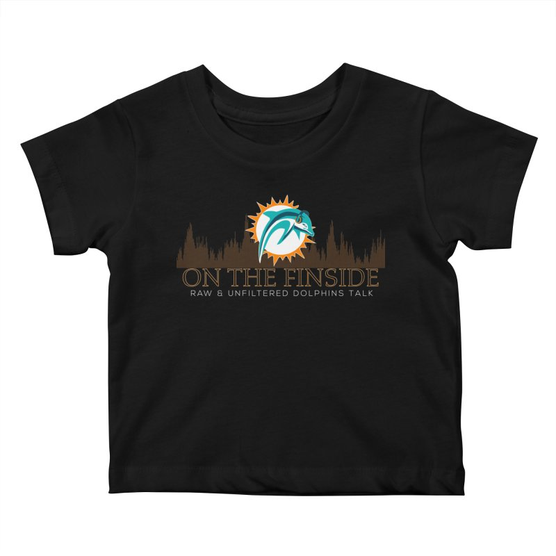 Clear Fire Kids Baby T-Shirt by On The Fin Side's Artist Shop