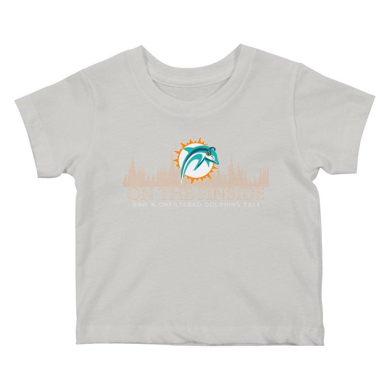 Clear Fire Kids Baby T-Shirt by OnTheFinSide's Artist Shop