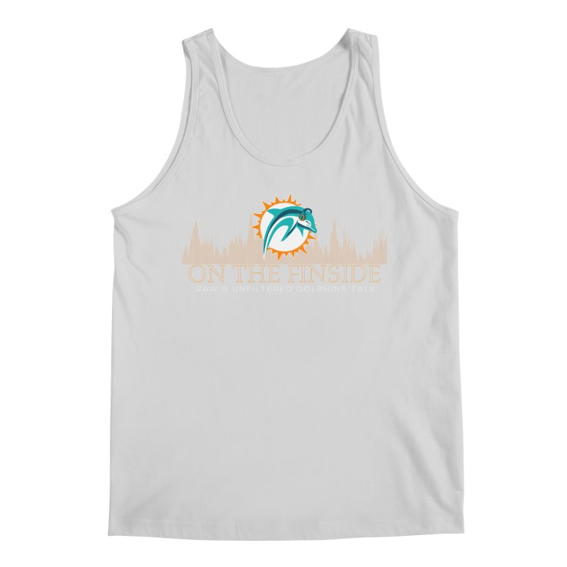 Clear Fire Men's Regular Tank by On The Fin Side's Artist Shop