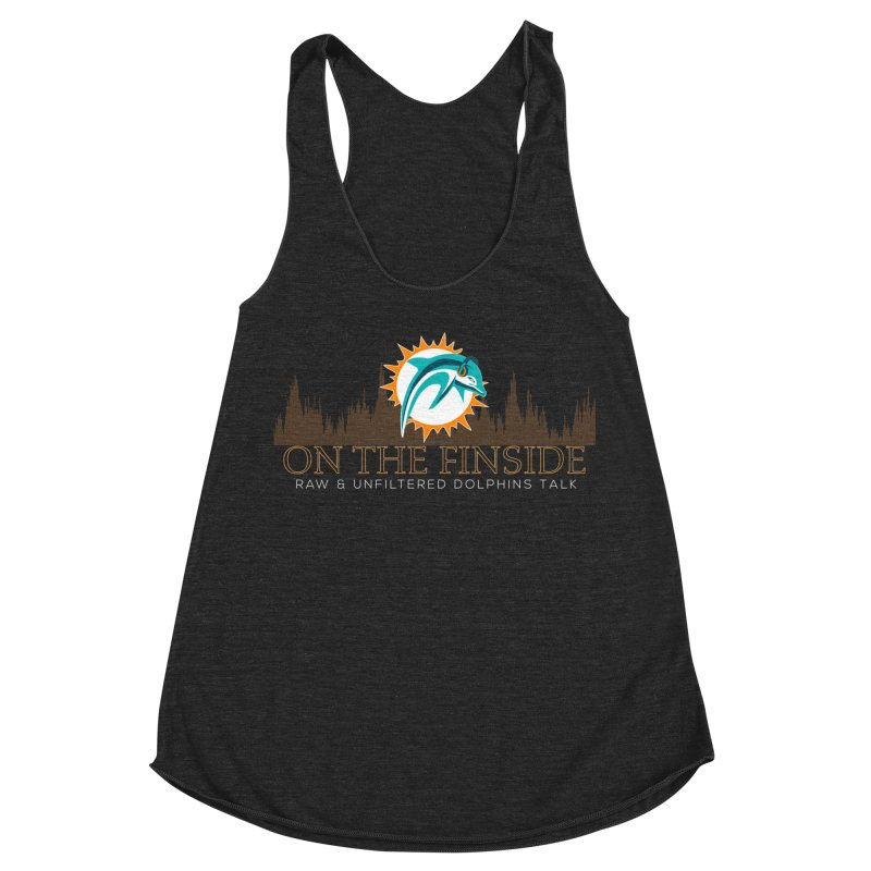 Clear Fire Women's Racerback Triblend Tank by On The Fin Side's Artist Shop