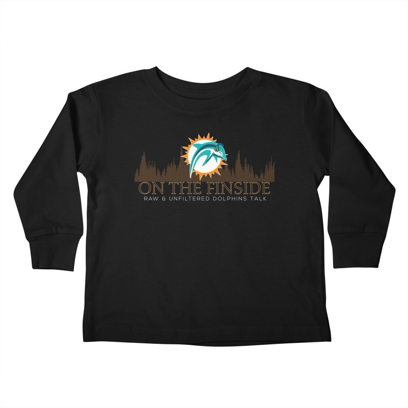 Clear Fire Kids Toddler Longsleeve T-Shirt by On The Fin Side's Artist Shop