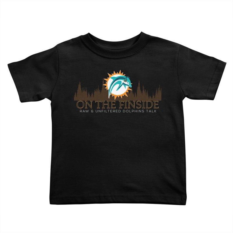 Clear Fire Kids Toddler T-Shirt by On The Fin Side's Artist Shop