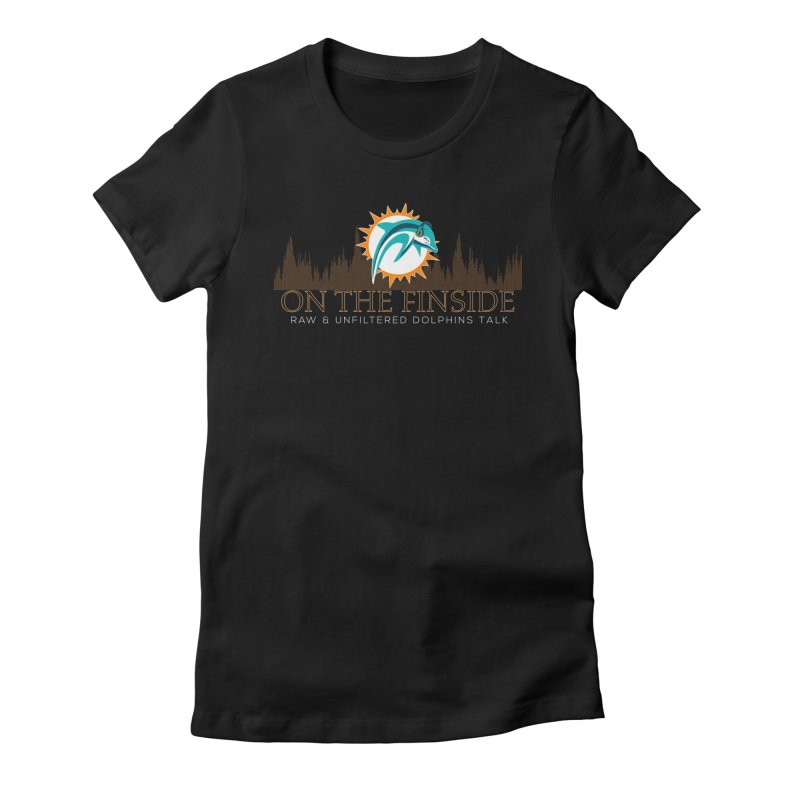 Clear Fire Women's T-Shirt by On The Fin Side's Artist Shop