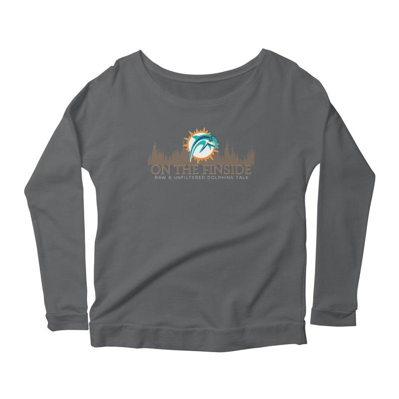 Clear Fire Women's Scoop Neck Longsleeve T-Shirt by OnTheFinSide's Artist Shop