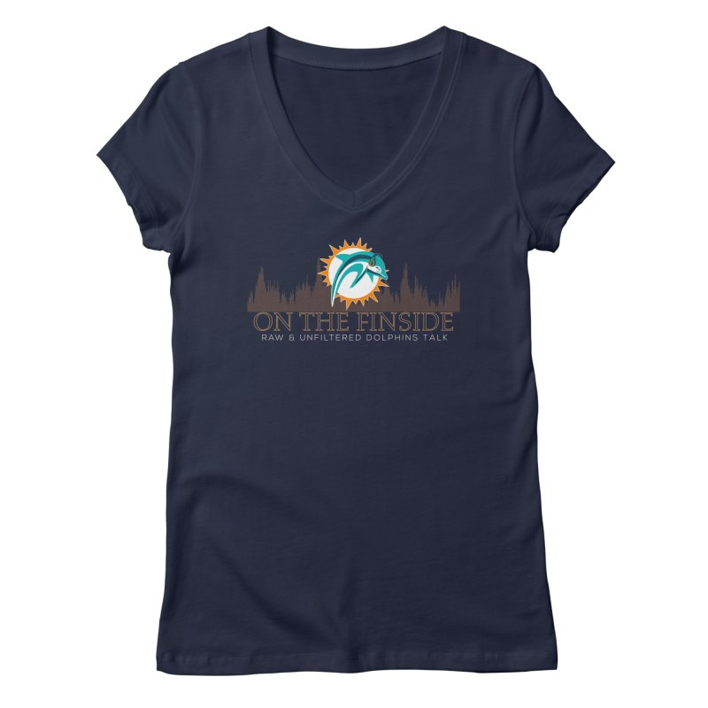 Clear Fire Women's Regular V-Neck by OnTheFinSide's Artist Shop