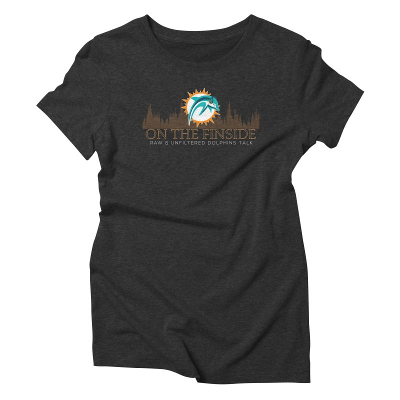 Clear Fire Women's Triblend T-Shirt by On The Fin Side's Artist Shop