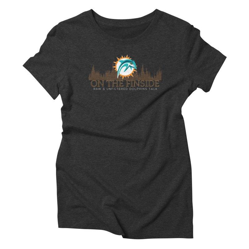 Clear Fire Women's Triblend T-Shirt by OnTheFinSide's Artist Shop