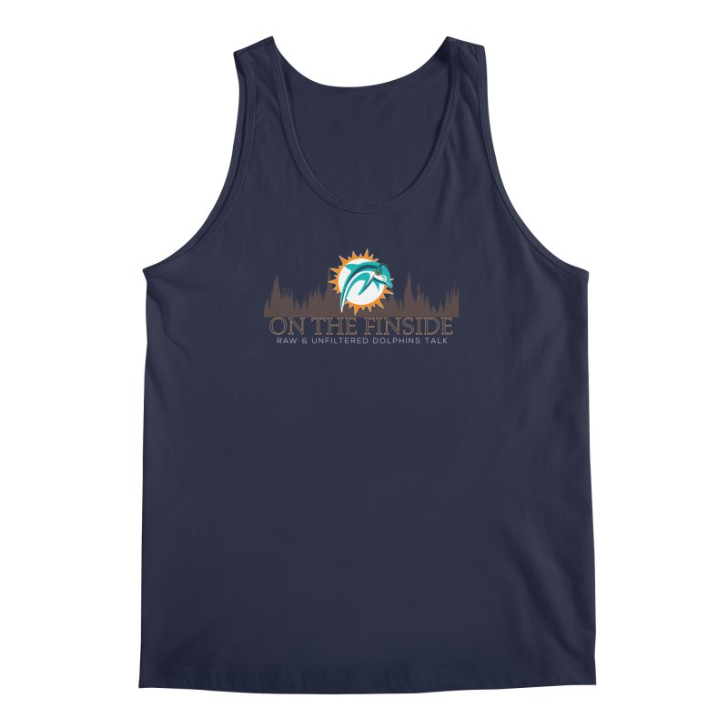 Clear Fire Men's Tank by On The Fin Side's Artist Shop