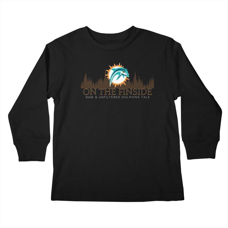 Clear Fire Kids Longsleeve T-Shirt by OnTheFinSide's Artist Shop