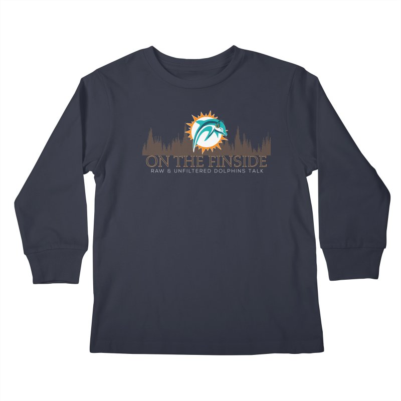 Clear Fire Kids Longsleeve T-Shirt by OnTheFinSide's Artist Shop