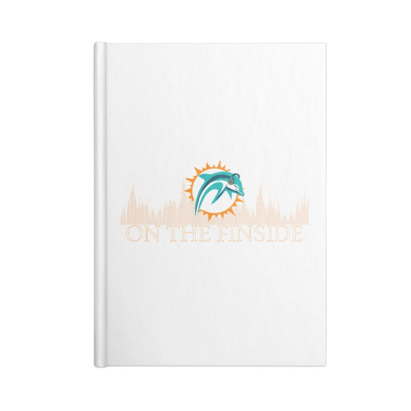 Clear Fire Accessories Notebook by On The Fin Side's Artist Shop