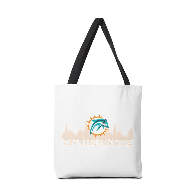 Clear Fire Accessories Bag by On The Fin Side's Artist Shop