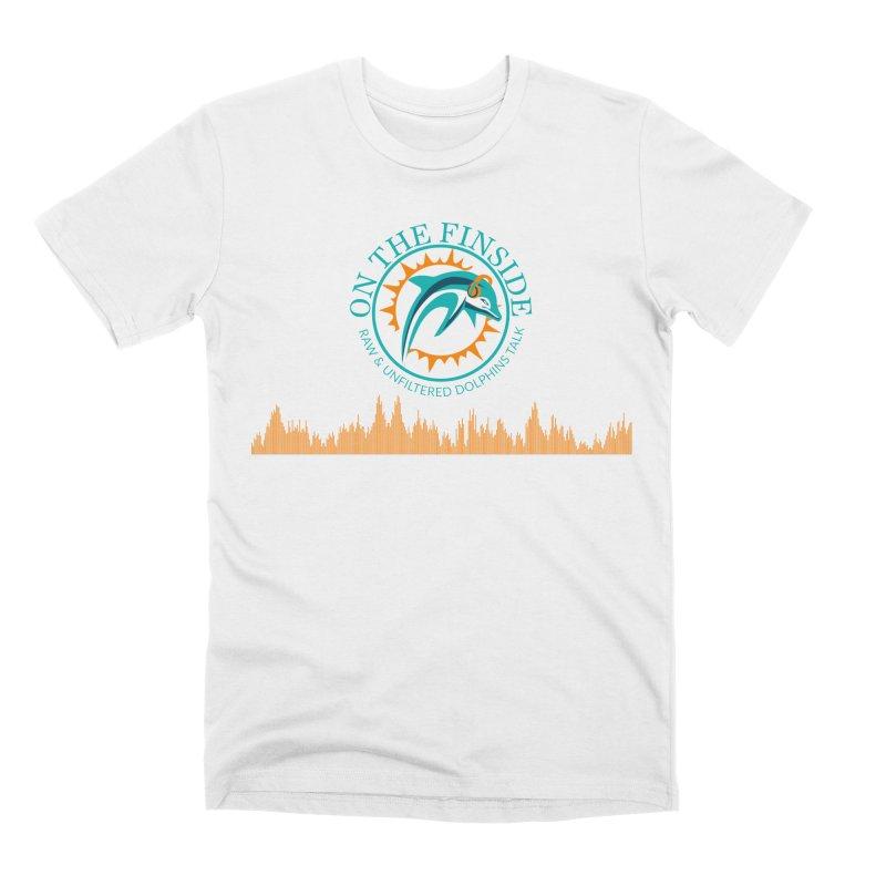 Aqua Bullet Men's Premium T-Shirt by On The Fin Side's Artist Shop
