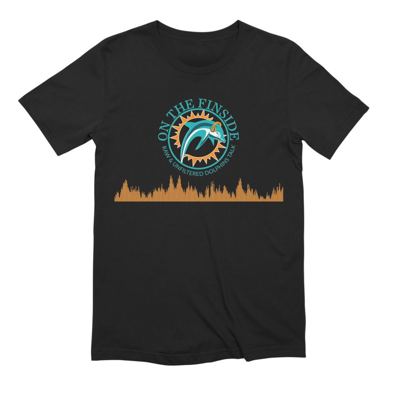 Aqua Bullet Men's T-Shirt by On The Fin Side's Artist Shop
