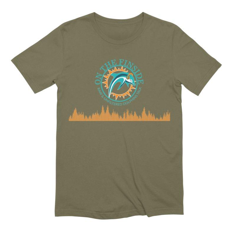Aqua Bullet Men's T-Shirt by On The Fin Side's Artist Shop