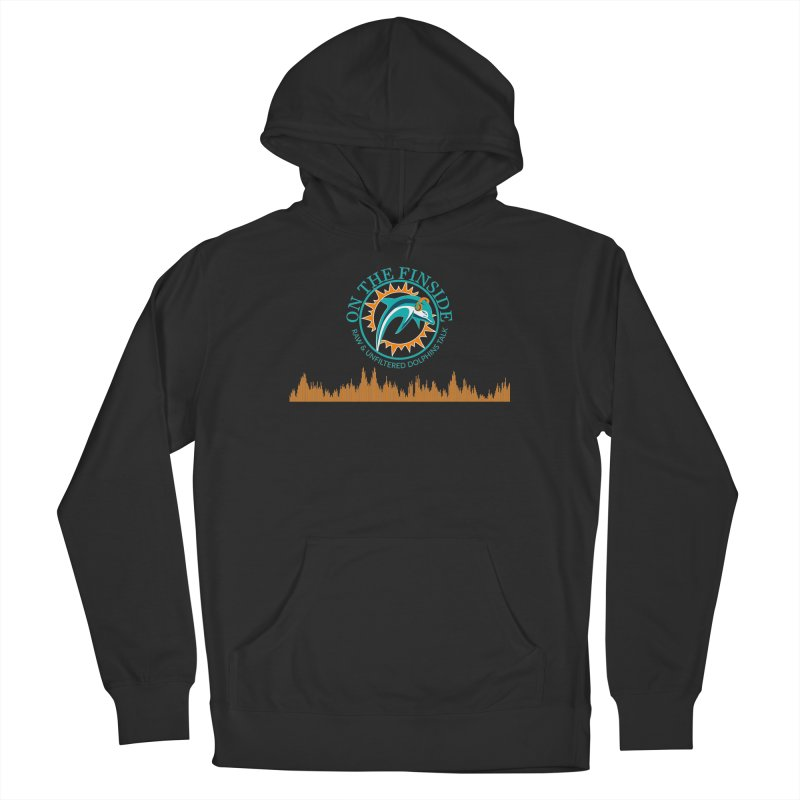 Aqua Bullet Men's Pullover Hoody by On The Fin Side's Artist Shop