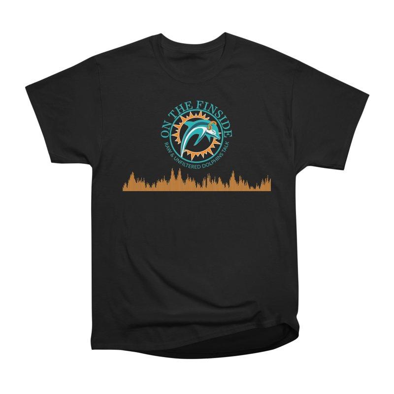 Aqua Bullet Men's Heavyweight T-Shirt by On The Fin Side's Artist Shop
