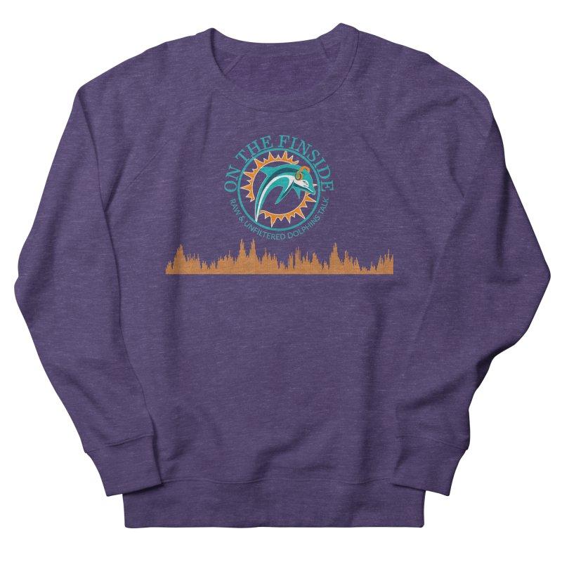 Aqua Bullet Women's French Terry Sweatshirt by On The Fin Side's Artist Shop