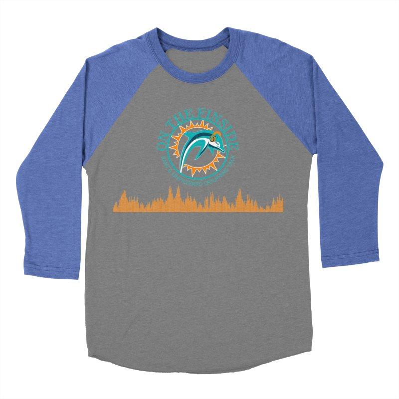 Aqua Bullet Women's Baseball Triblend Longsleeve T-Shirt by OnTheFinSide's Artist Shop