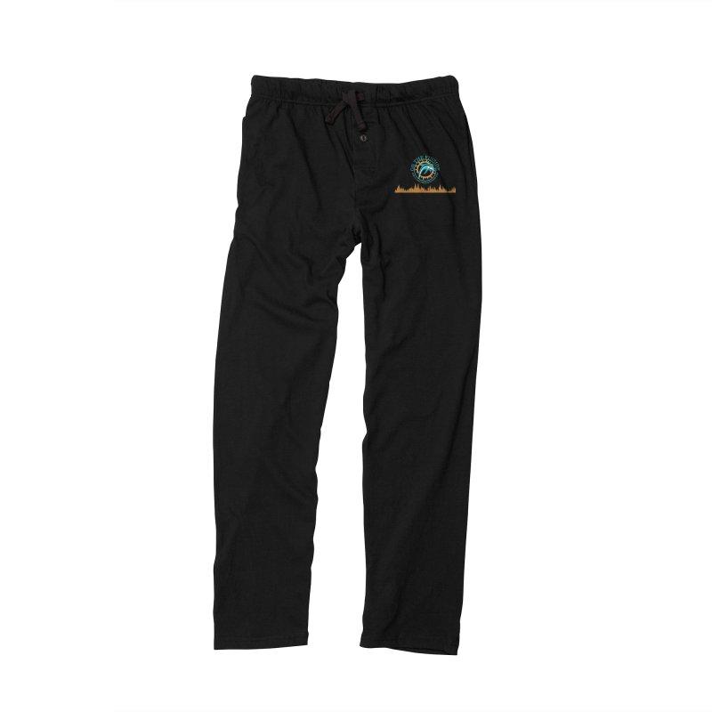 Aqua Bullet Men's Lounge Pants by OnTheFinSide's Artist Shop