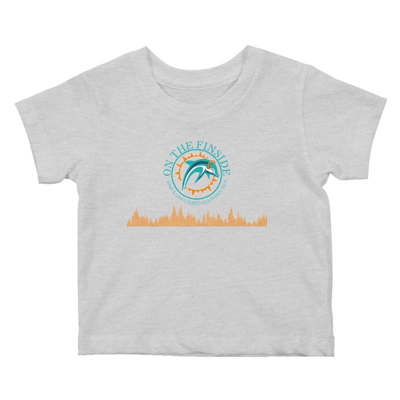 Aqua Bullet Kids Baby T-Shirt by OnTheFinSide's Artist Shop