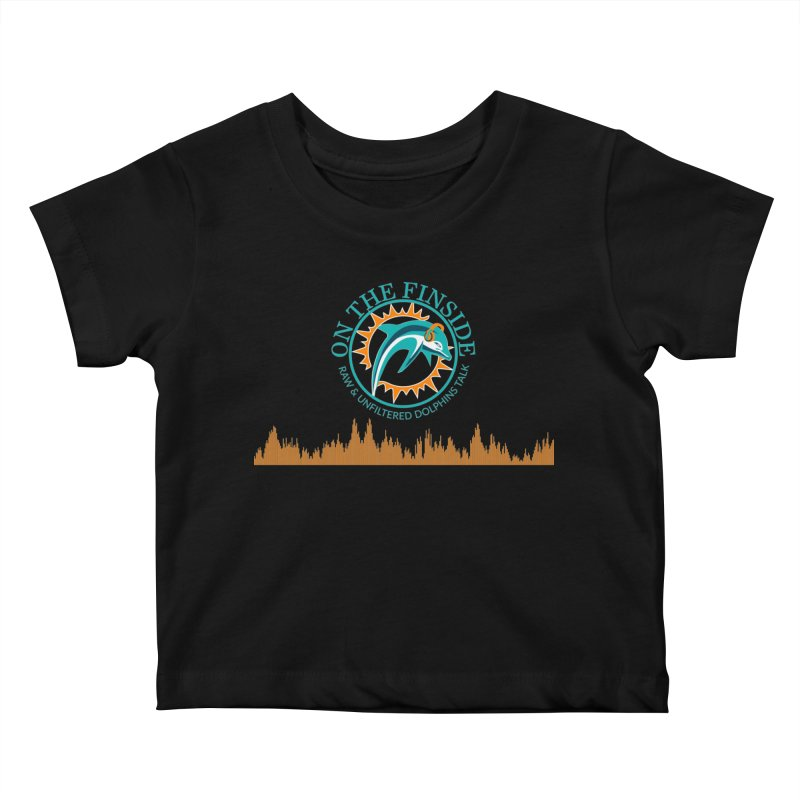 Aqua Bullet Kids Baby T-Shirt by On The Fin Side's Artist Shop